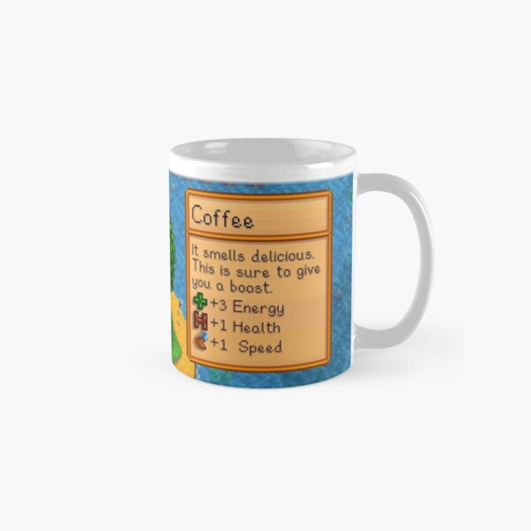 Stardew valley coffee with ducklings Classic Mug