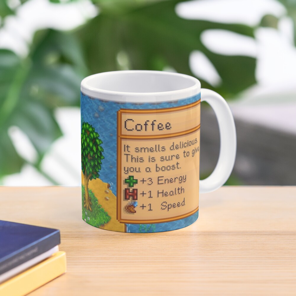 Stardew valley coffee with ducklings Mug