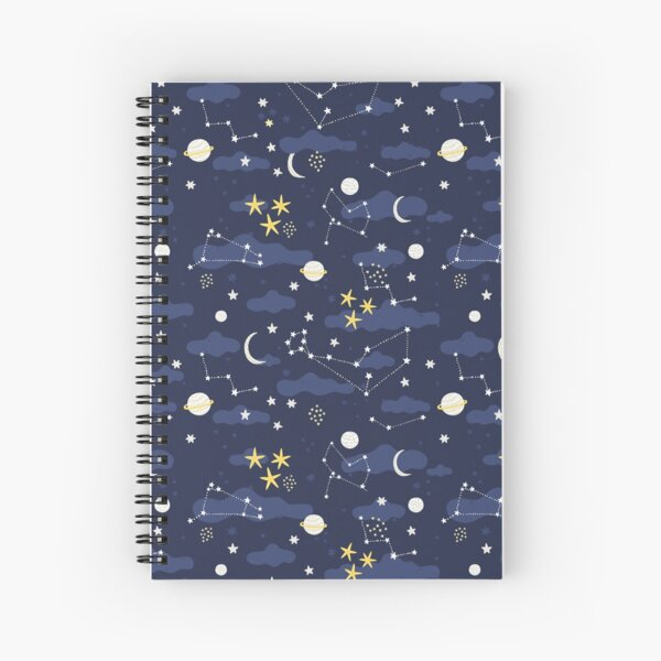 Galaxie - cosmos Cahier à spirale