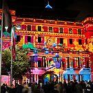 Vivid Sydney - Annual light show in Darling Harbor - Intel promo light show by kaledyson