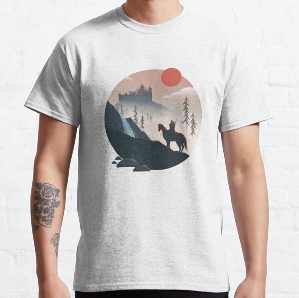 Geralt on the Ride Classic T-Shirt