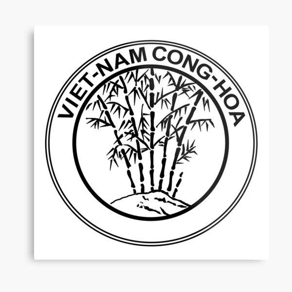 South Vietnam Coat of Arms (1955-1957) Metal Print