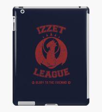 IZZET LEAGUE iPad Case/Skin