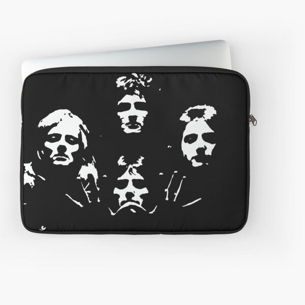 Queen Black and White Laptop Sleeve