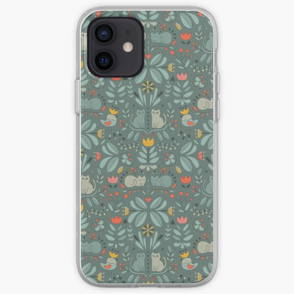 Swedish Folk Cats iPhone Soft Case