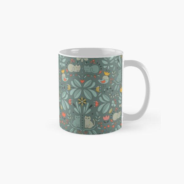 Swedish Folk Cats Classic Mug