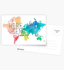 Here am I, Father Postcards