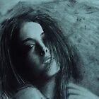 charcoal portrait  by tejas karay