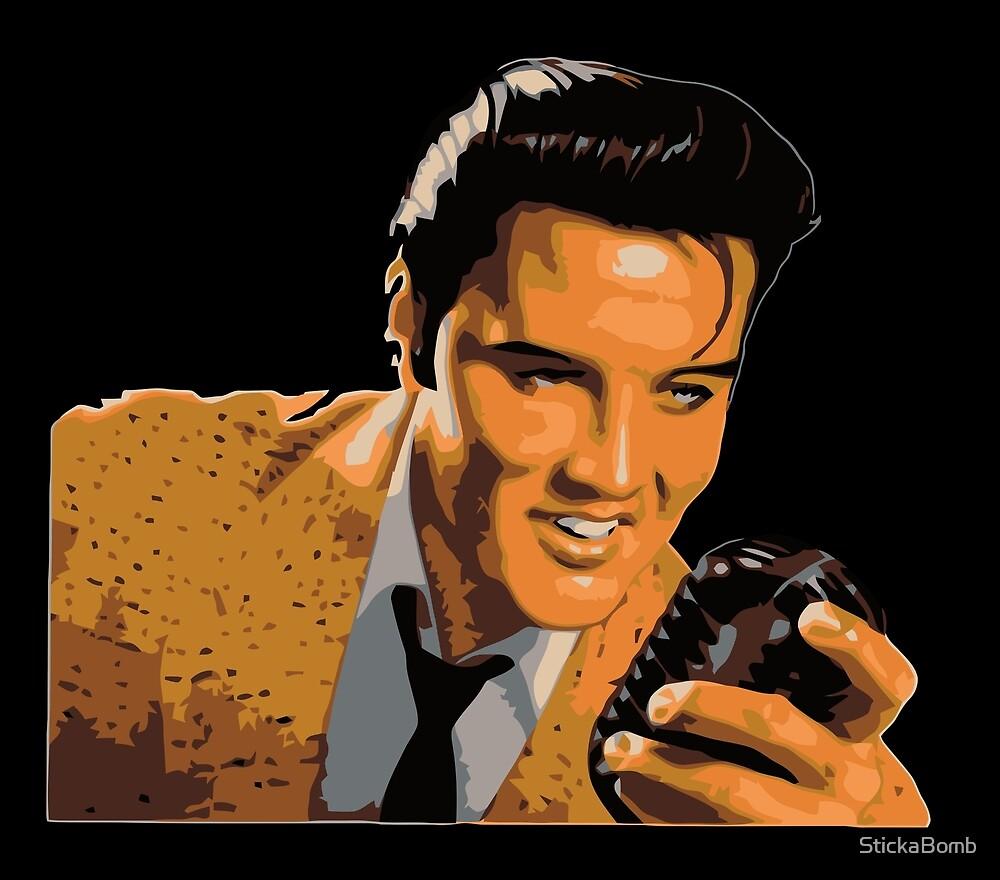 Elvis Presley Vintage by StickaBomb