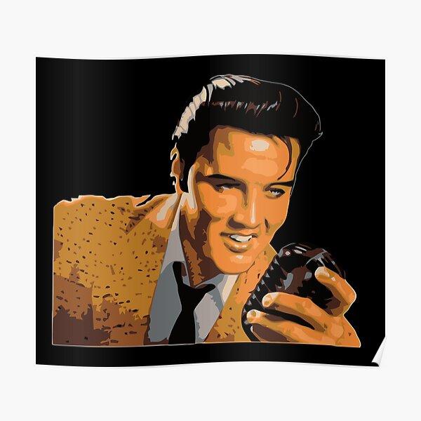 Elvis Presley Vintage Poster
