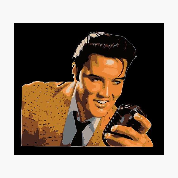 Elvis Presley Vintage Photographic Print