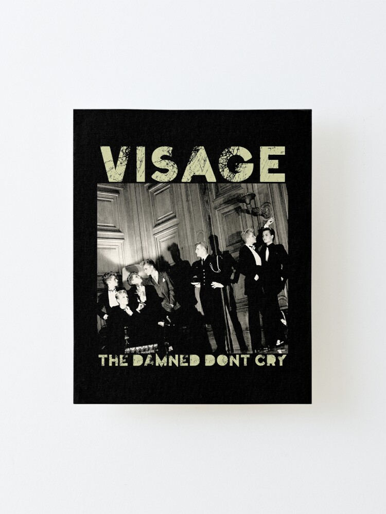 Alternate view of Visage - Damned Mounted Print