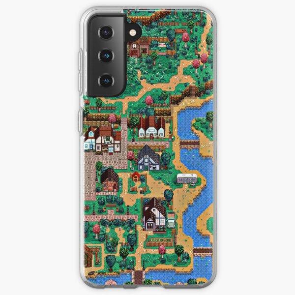 Stardew valley town map Samsung Galaxy Soft Case