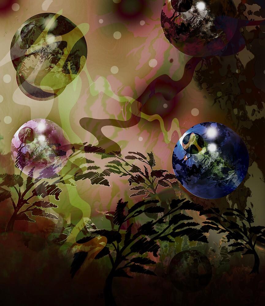 Metallic Spheres 3 by Grant Wilson