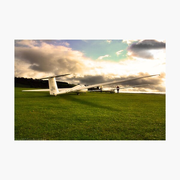 A Glider or Two Photographic Print