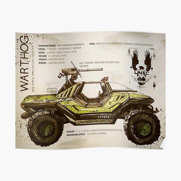 M12 Warthog Poster