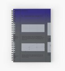 Cuaderno de espiral geometrical