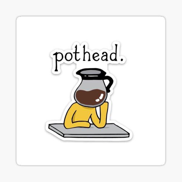 Pegatina Pothead Pegatina