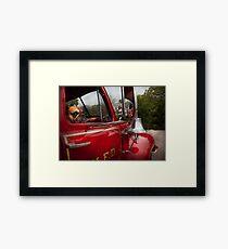 Fireman - Mack  Framed Print