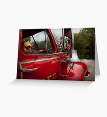 Fireman - Mack  Greeting Card