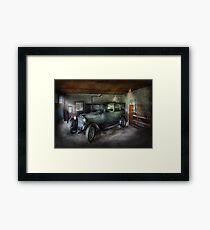 Automotive - Car - Granpa's Garage  Framed Print