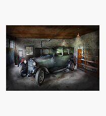 Automotive - Car - Granpa's Garage  Photographic Print
