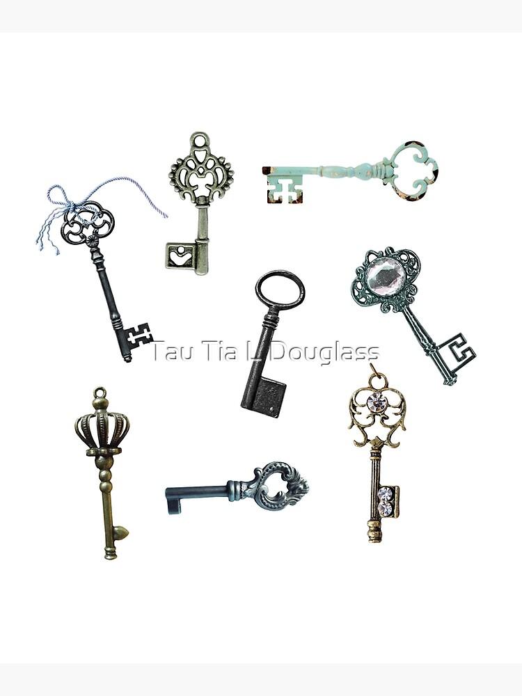 Vintage Keys Steampunk Theme by PurplePeacock