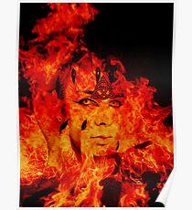 Fire Warlock Poster
