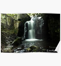 Lumsdale Waterfall 2 Poster