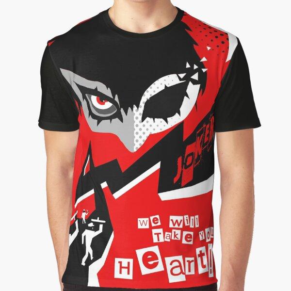 Persona 5 Joker - ¡Toma tu corazón! Camiseta gráfica