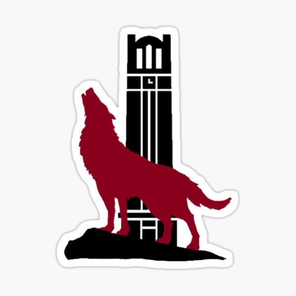 Wolf & Bell Tower Sticker