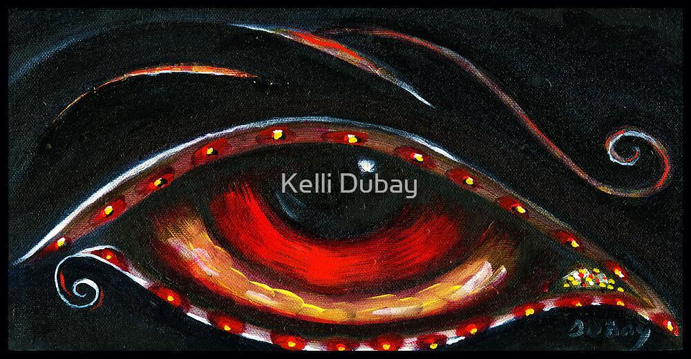 Indigo Eye by Kelli Dubay