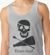 Direct-Arrr! Black Design Tank Top