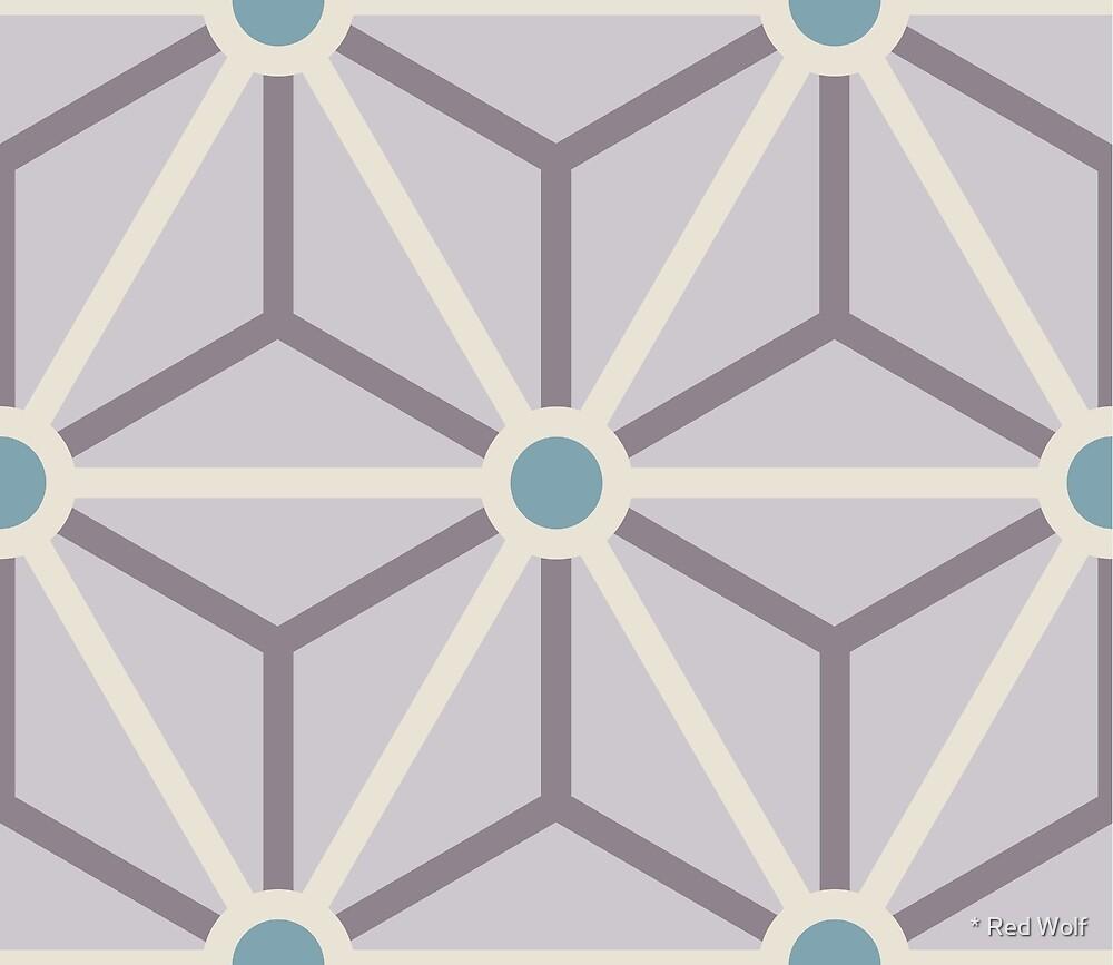 Geometric Pattern: Art Deco Star: Jessica by * Red Wolf