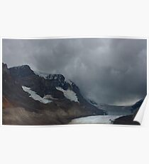 The Columbia Icefield in canada Poster