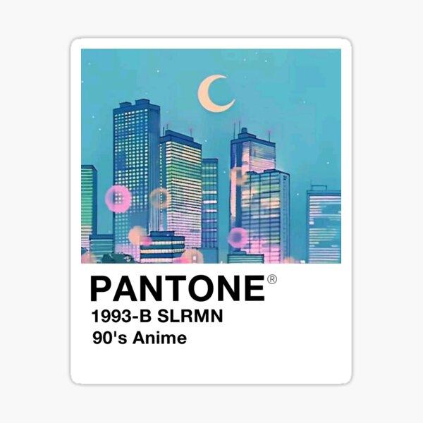 Pantone B de los 90 Pegatina