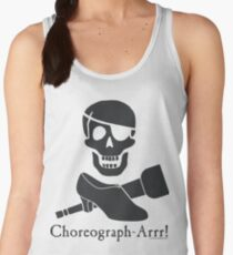 Choreograph-Arrr! Black Design Women's Tank Top