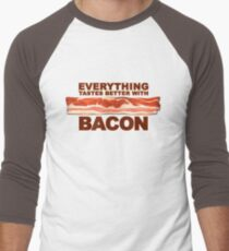Everything Tastes Better With Bacon  Men's Baseball ¾ T-Shirt