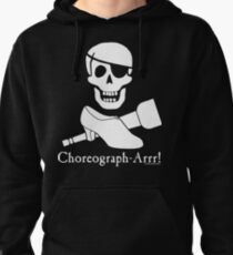 Choreograph-Arrr! White Design Pullover Hoodie