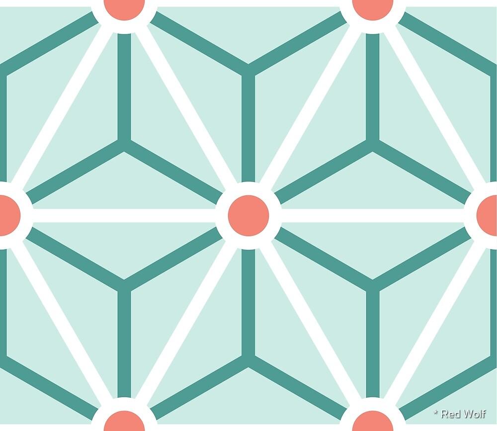 Geometric Pattern: Art Deco Star: Stem by * Red Wolf