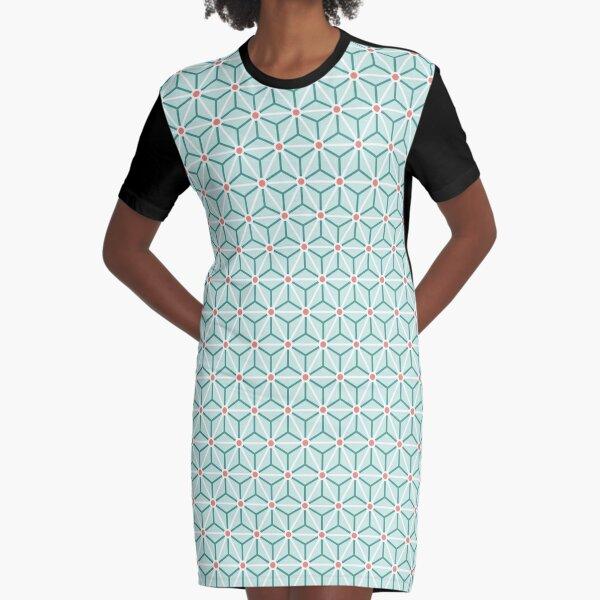 Geometric Pattern: Art Deco Star: Stem Graphic T-Shirt Dress