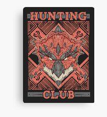 Hunting Club: Rathalos Canvas Print