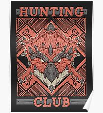 Hunting Club: Rathalos Poster
