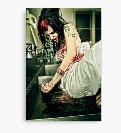 The Black Widow Canvas Print