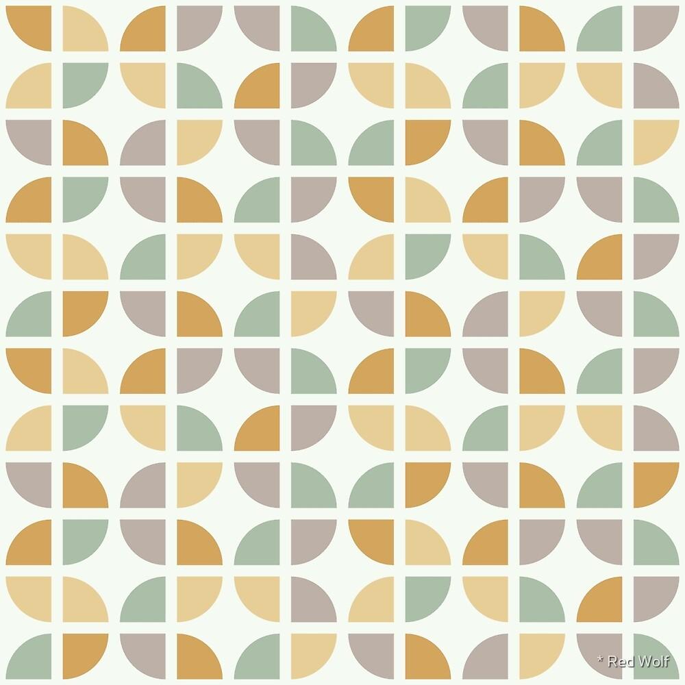 Geometric Pattern: Quarter Circle: Helene by * Red Wolf
