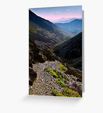 Newlands Valley, Cumbria. UK Greeting Card