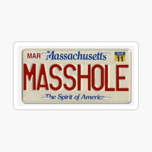 masshole Sticker