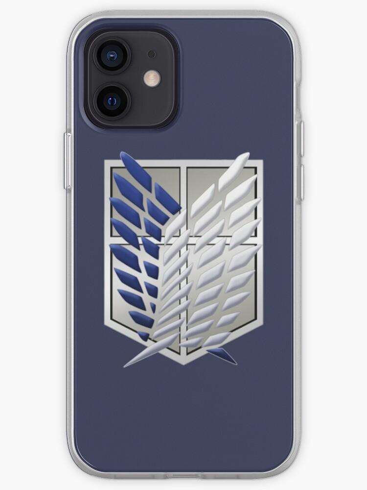 Bataillon d'Exploration l'Attaque des Titans   Coque iPhone