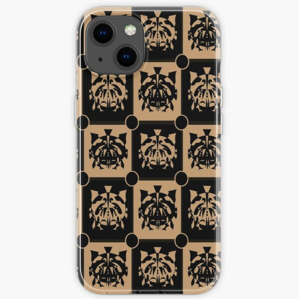 Abstract Tribal Masks  iPhone Soft Case