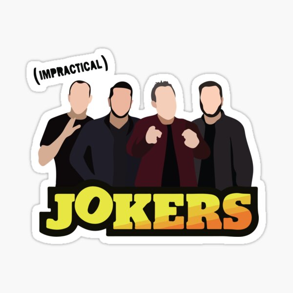 Impactical Jokers - Sal, Murr, Brian, Joe Sticker